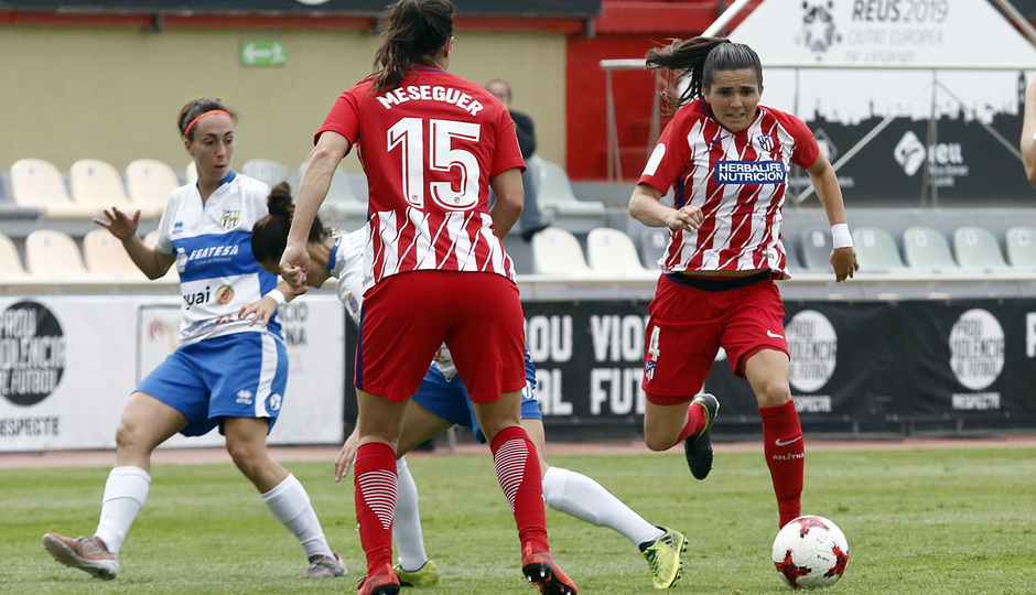 Temp. 17-18 | UD Granadilla Tenerife - Atlético de Madrid Femenino | Semifinal de la Copa de la Reina | Andrea Pereira
