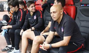 Temp. 17-18 | UD Granadilla Tenerife - Atlético de Madrid Femenino | Semifinal de la Copa de la Reina | Villacampa