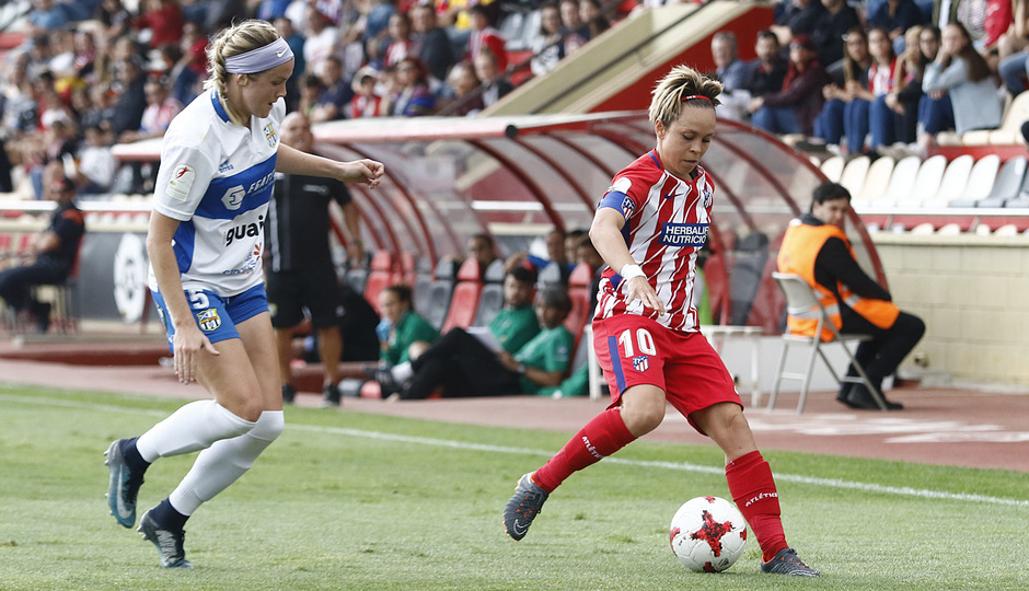 Temp. 17-18 | UD Granadilla Tenerife - Atlético de Madrid Femenino | Semifinal de la Copa de la Reina | Amanda Sampedro