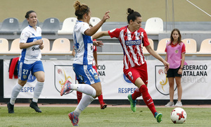 Temp. 17-18 | UD Granadilla Tenerife - Atlético de Madrid Femenino | Semifinal de la Copa de la Reina | Aurélie Kaci