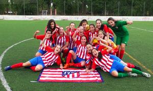 Temp. 17-18   Femenino Juvenil D campeón   GALERÍA ACADEMIA 2018