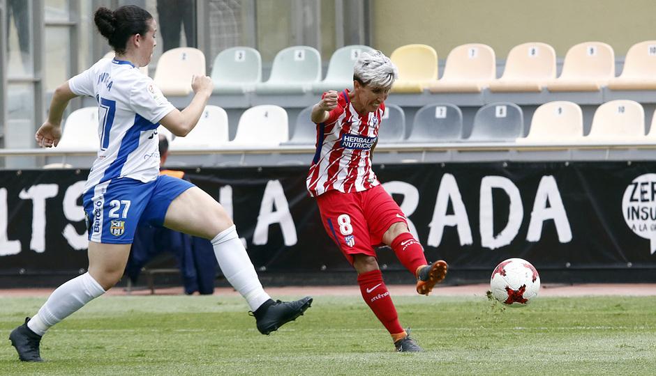 Temp. 17-18 | UD Granadilla Tenerife - Atlético de Madrid Femenino | Semifinal de la Copa de la Reina | Sonia Bermúdez