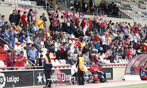 Temp. 17-18 | UD Granadilla Tenerife - Atlético de Madrid Femenino | Semifinal de la Copa de la Reina | Gradas