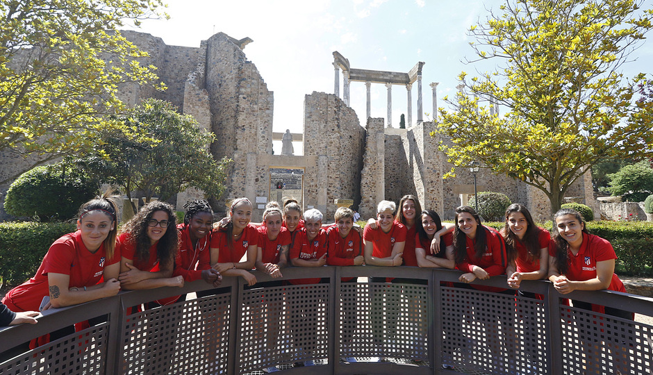 Visita al Teatro y Anfiteatro Romano de Mérida antes de la Final de la Copa de la Reina |