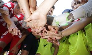 Temp. 17-18 | Final Copa de la Reina 2018 | FC Barcelona - Atlético de Madrid Femenino | Piña y Conjura