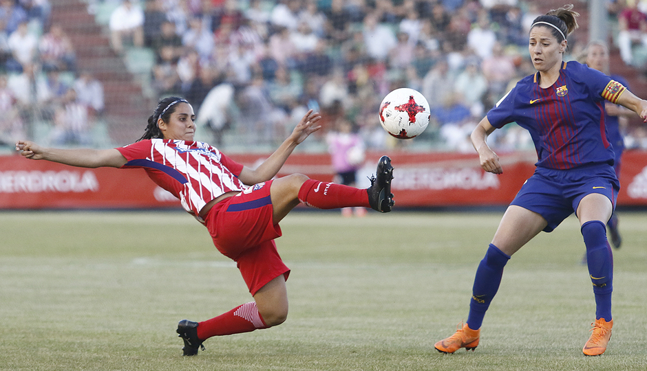 Temp. 17-18 | Final Copa de la Reina 2018 | FC Barcelona - Atlético de Madrid Femenino | Kenti Robles