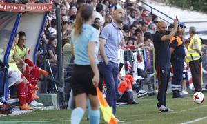 Temp. 17-18 | Final Copa de la Reina 2018 | FC Barcelona - Atlético de Madrid Femenino | Villacampa y Fran Sánchez