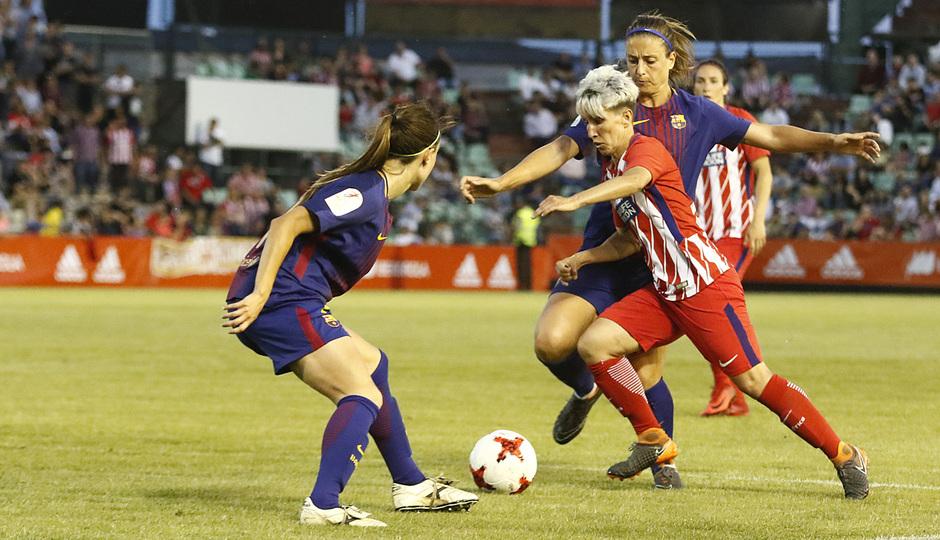 Temp. 17-18 | Final Copa de la Reina 2018 | FC Barcelona - Atlético de Madrid Femenino | Sonia Bermúdez