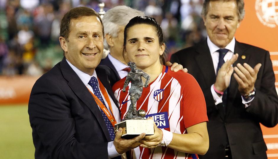 Temp. 17-18 | Final Copa de la Reina 2018 | FC Barcelona - Atlético de Madrid Femenino | Andrea Pereira, mejor jugadora de la final