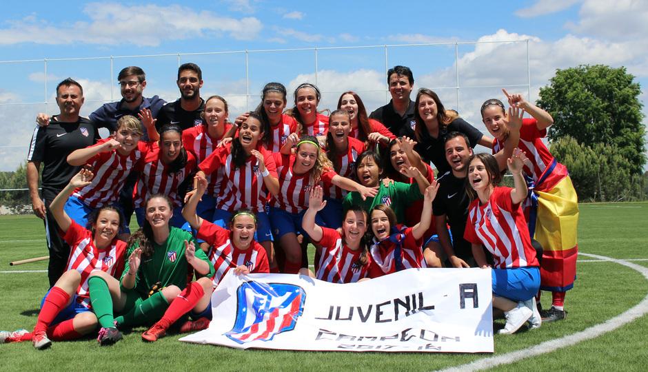 Temp 17/18 | Femenino Juvenil A campeón de Liga