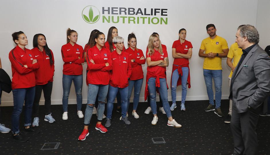 Temp. 17-18 | Atlético de Madrid Femenino | Visita a Herbalife