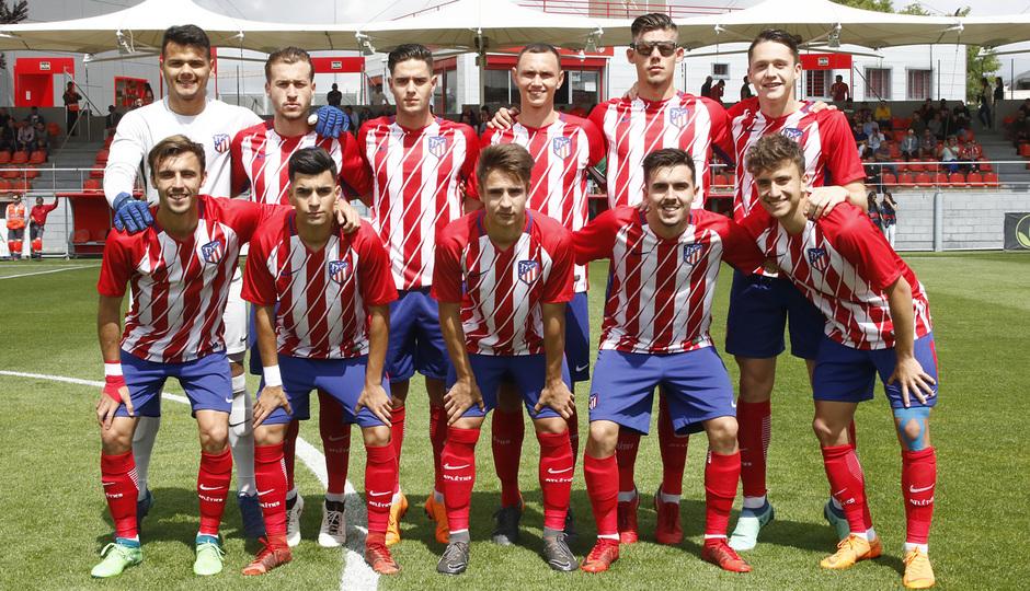 Temporada 17/18 | Copa del Rey Juvenil, semifinal | Atlético - Athletic | Once titular