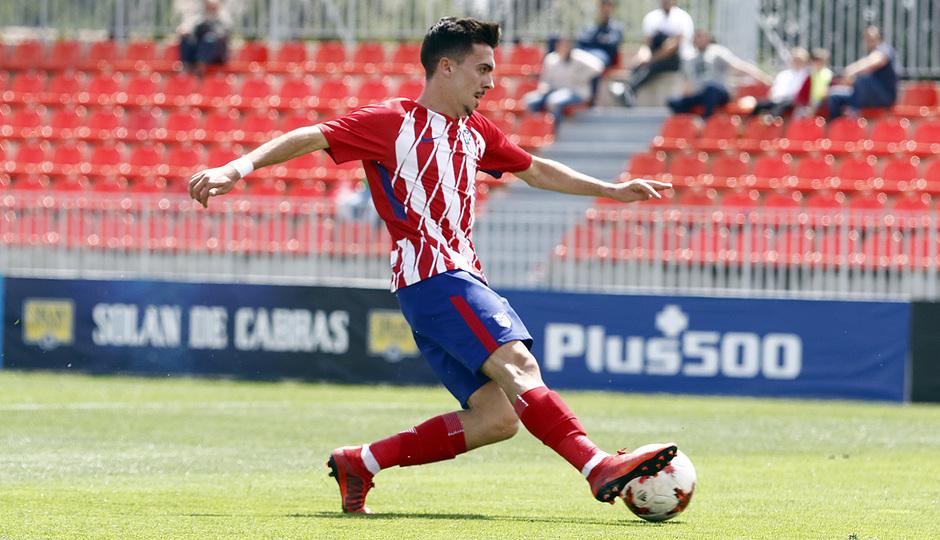 Temporada 17/18 | Copa del Rey Juvenil, semifinal | Atlético - Athletic | Gol Joaquín Muñoz