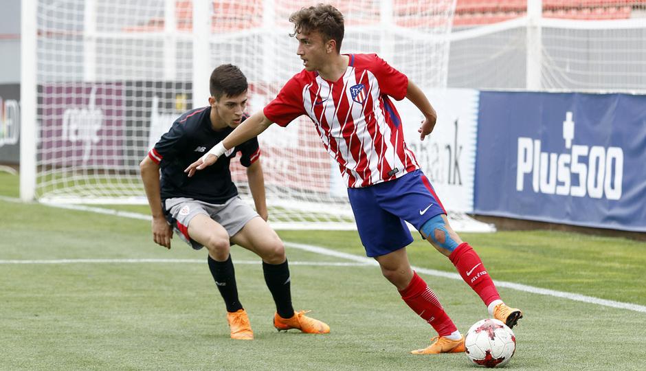Temporada 17/18 | Copa del Rey Juvenil, semifinal | Atlético - Athletic | Juan Agüero