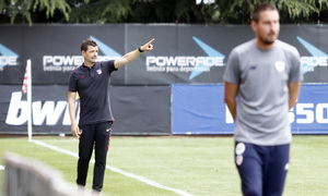 Temporada 17/18 | Copa del Rey Juvenil, semifinal | Atlético - Athletic | Manolo Cano