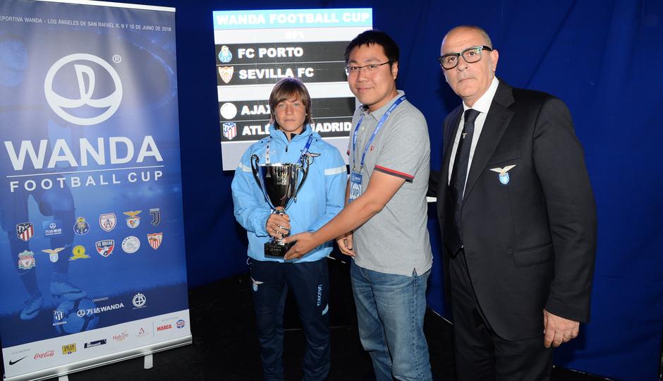 Wanda Football Cup   Entrega de trofeos   Manchester City