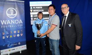 Wanda Football Cup | Entrega de trofeos | Manchester City