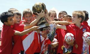 Temp 17/18 | Prebenjamín A en la final ante el Illescas en la Copa de Campeones