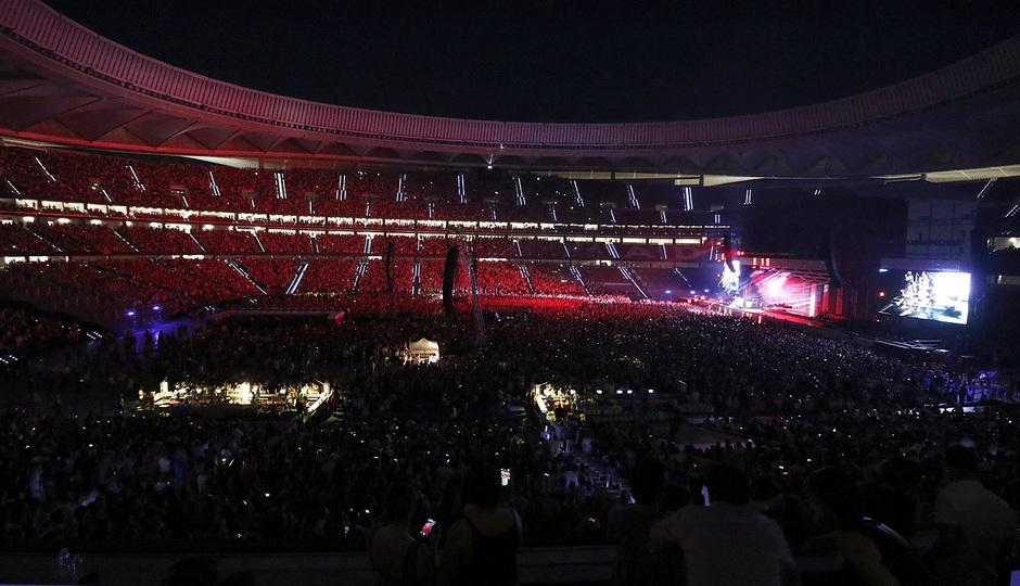 22 de junio de 2018 | Concierto de Bruno Mars en el Wanda Metropolitano