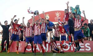 Temp. 17-18   Final Copa del Rey Juvenil   Celebración