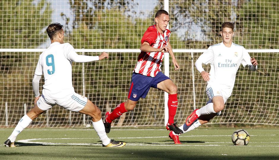 GALERÍA JUVENIL A TRICAMPEÓN: 5 | Mikel, contra el Real Madrid
