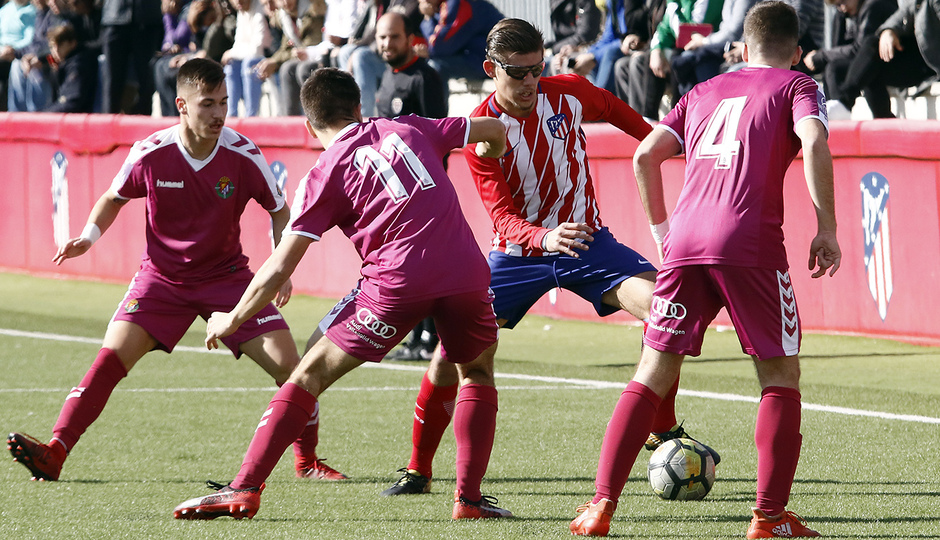 GALERÍA JUVENIL A TRICAMPEÓN: 6 | Montero, contra el Valladolid