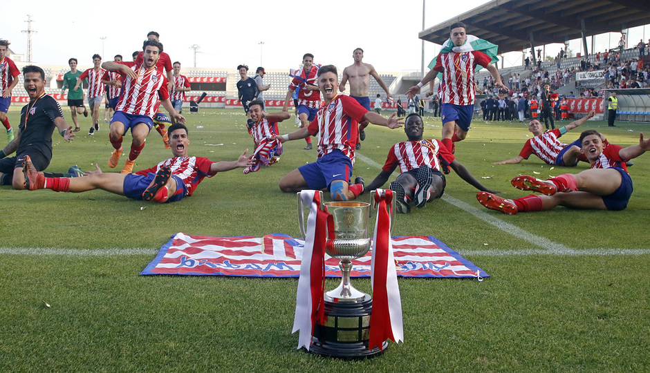 GALERÍA JUVENIL A TRICAMPEÓN: 29, Final de Copa del Rey
