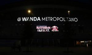 Concierto Iron Maiden Wanda Metropolitano