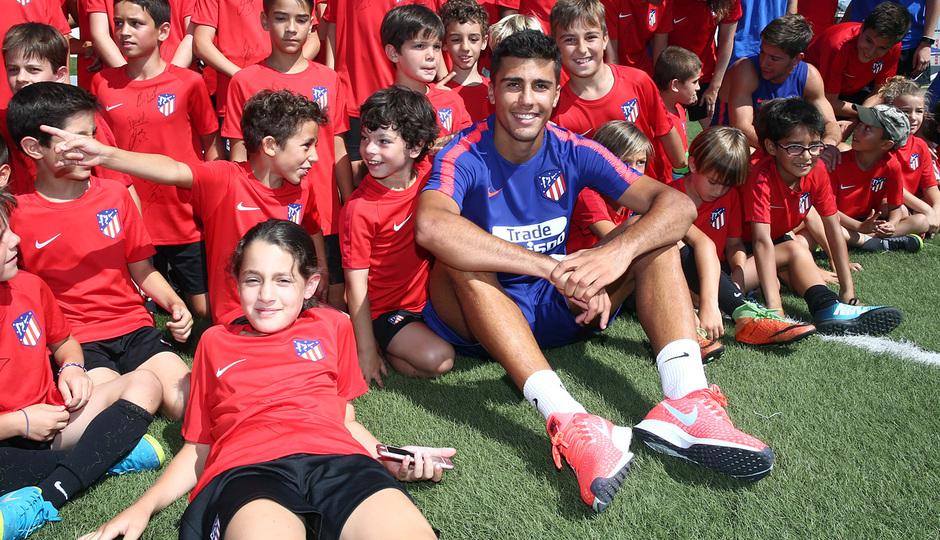 Clinic de verano de la Fundación Atlético de Madrid | Rodri