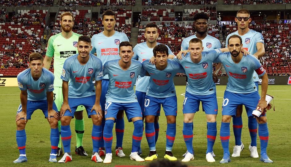 Temporada 2018-2019 | ICC Singapur  | Atlético de Madrid - Arsenal | Equipo titular