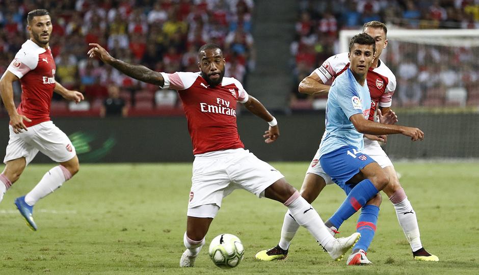 Temporada 2018-2019 | ICC Singapur  | Atlético de Madrid - Arsenal | Rodrigo Lacazette