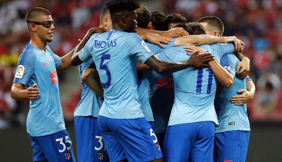 Temporada 2018-2019 | ICC Singapur  | Atlético de Madrid - Arsenal | Grupo