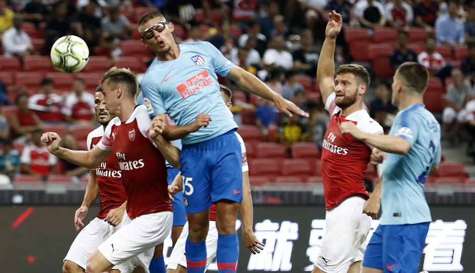 Temporada 2018-2019 | ICC Singapur  | Atlético de Madrid - Arsenal | Montero remate