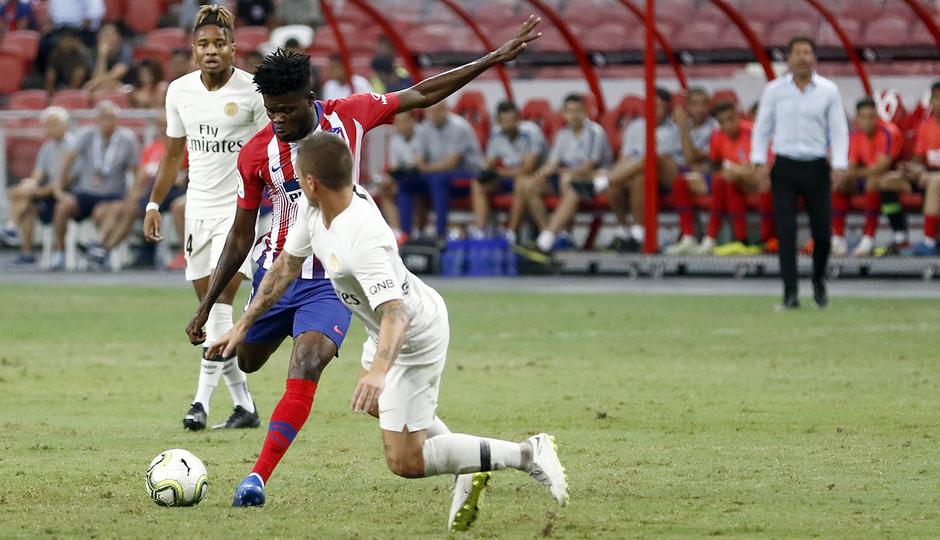 Temporada 2018-2019 | ICC Singapur | PSG - Atlético de Madrid | Grupo | Thomas