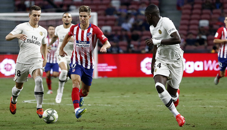 Temporada 2018-2019 | ICC Singapur | PSG - Atlético de Madrid | Grupo | Vietto