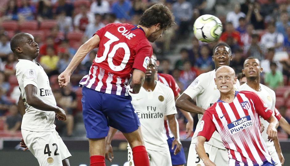 Temporada 2018-2019 | ICC Singapur | PSG - Atlético de Madrid | Grupo | Olabe