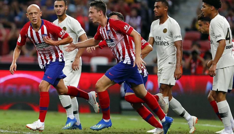 Temporada 2018-2019 | ICC Singapur | PSG - Atlético de Madrid | Grupo | Borja Garcés y Víctor Mollejo