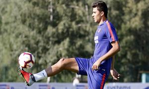 temporada 18/19. Entrenamiento en Brunico. Rodrigo