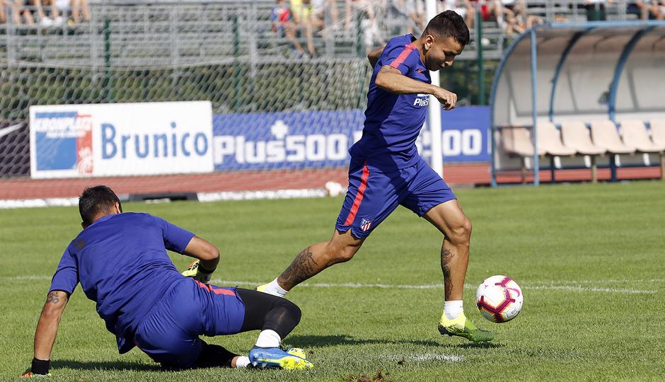 temporada 18/19. Entrenamiento en Brunico. Correa
