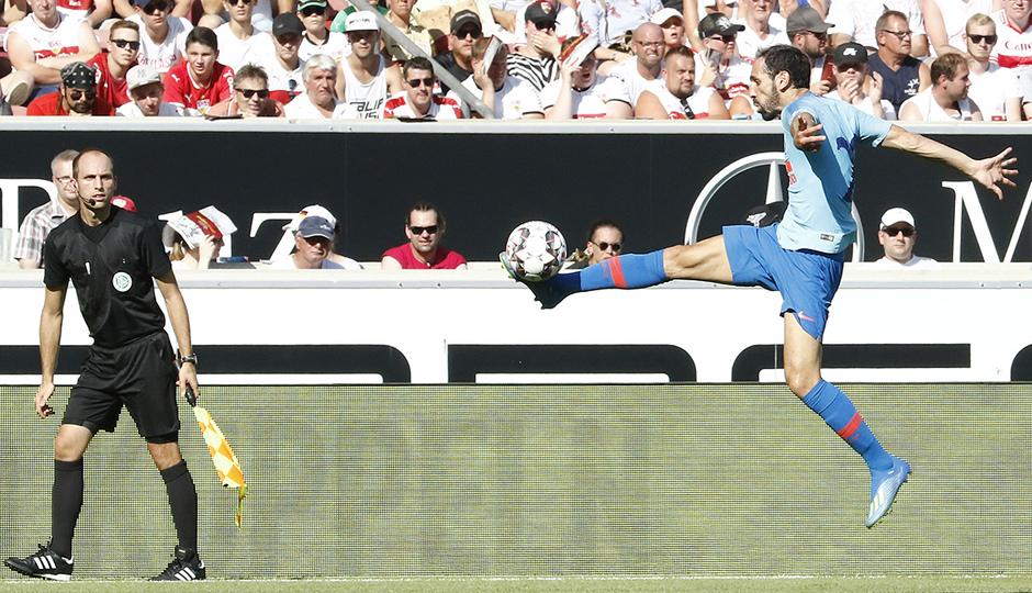 Temporada 2018-2019 | Stuttgart - Atlético de Madrid | Juanfran