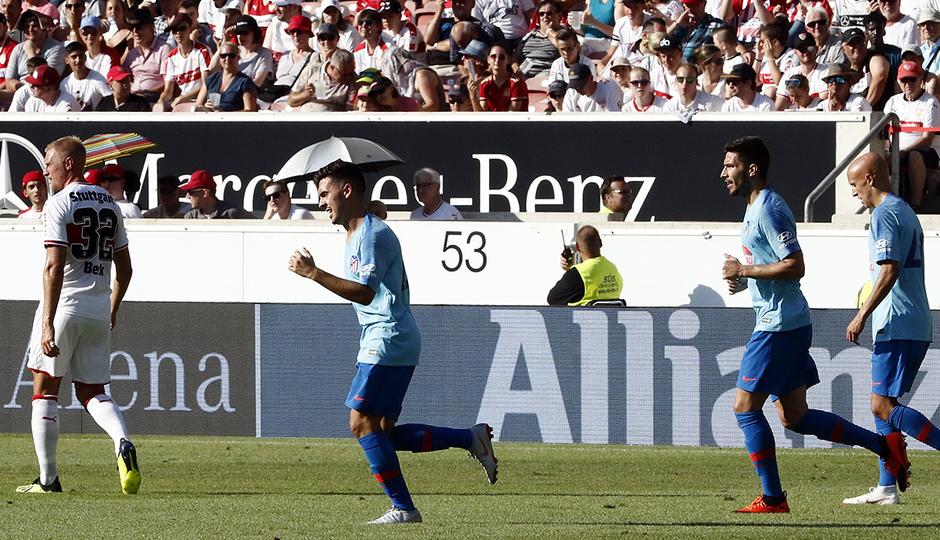 Temporada 2018-2019 | Stuttgart - Atlético de Madrid | Joaquín Muñoz