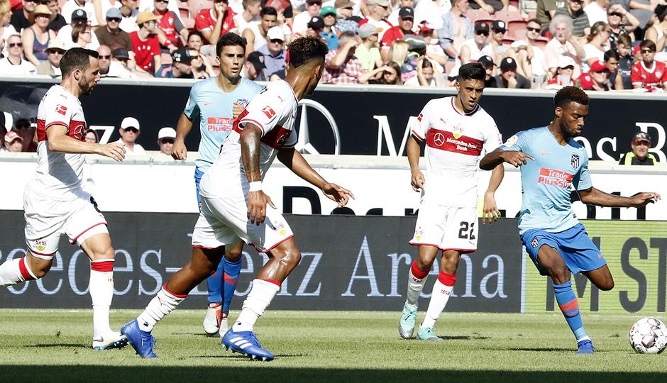 Temporada 2018-2019 | Stuttgart - Atlético de Madrid | Lemar