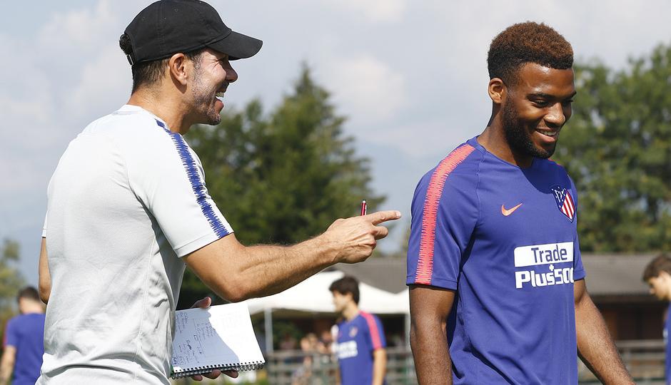 Temporada 2018-2019 | Brunico | Entrenamiento | Simeone y Lemar