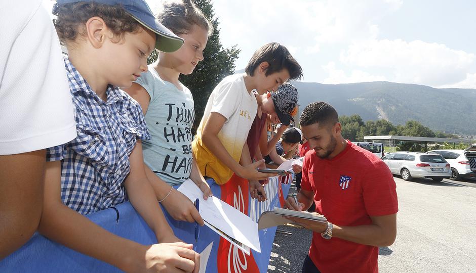 Temporada 2018-2019 | Brunico | Entrenamiento | Koke fans