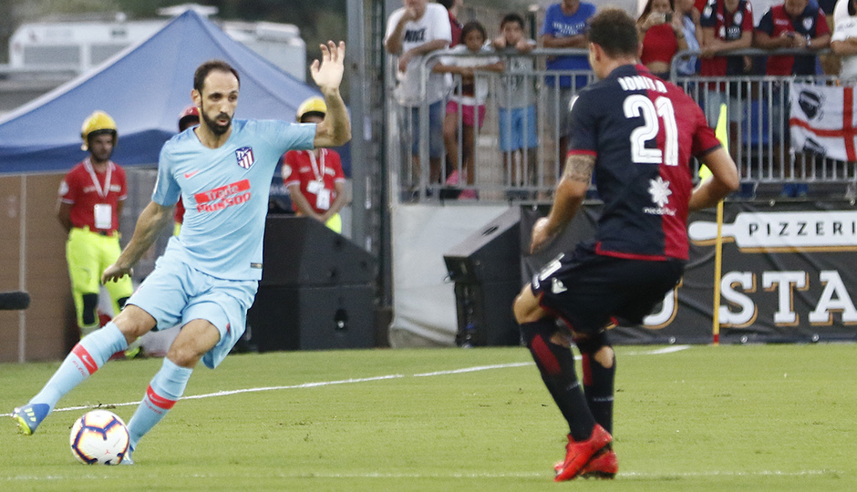 Temporada 2018-2019   Cagliari-Atlético de Madrid   Juanfran