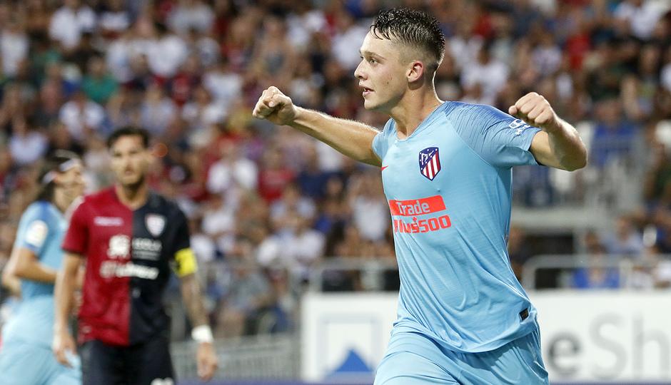 Temporada 2018-2019 | Cagliari-Atlético de Madrid | Borja Garcés