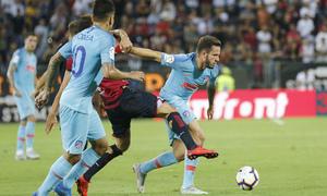 Temporada 2018-2019 | Cagliari-Atlético de Madrid | Saúl, Correa