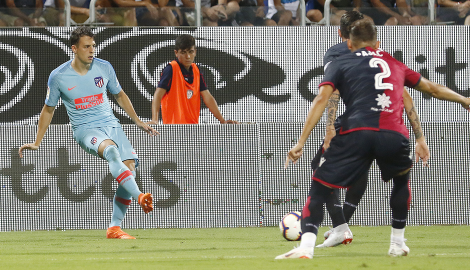 Temporada 2018-2019   Cagliari-Atlético de Madrid   Arias