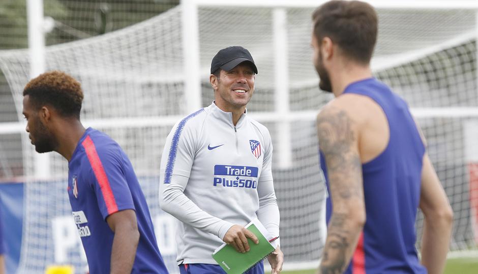 Temporada 18/19 | Entrenamiento del primer equipo | Simeone