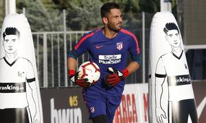 Temporada 2018-2019 | Entrenamiento Ciudad Deportiva Wanda | Adán